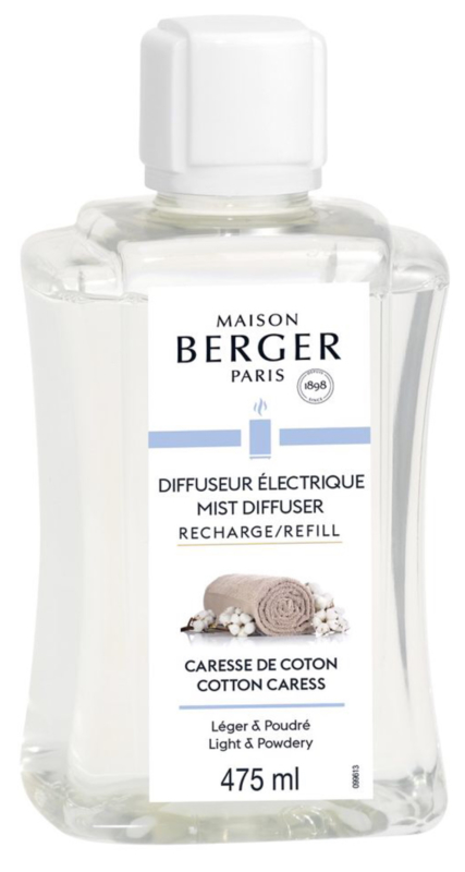 Maison Berger Diffuser Navulling Cotton Cares 475 ml