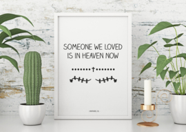 A6 | Someone we loved, 5 stuks