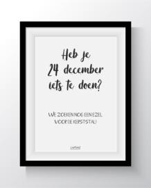 heb je 24 december wat te doen