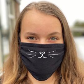 Mondmasker - Cat