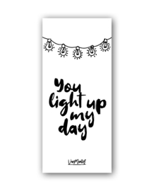 You light up my day (one line), per 10 stuks