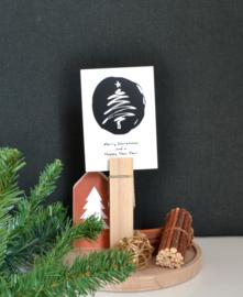 Kerstboom met stip