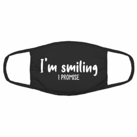 Mondmasker - I'm smiling I promise