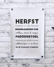 Tuinposter - Herfst