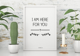 A6 | I am here for you, 5 stuks