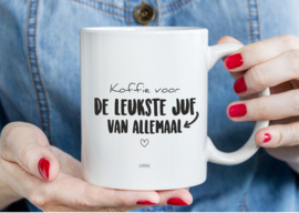 MOK - KOFFIE VOOR DE LEUKSTE JUF VAN ALLEMAAL