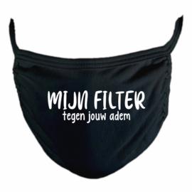 Mondmasker - Mijn filter tegen jouw adem