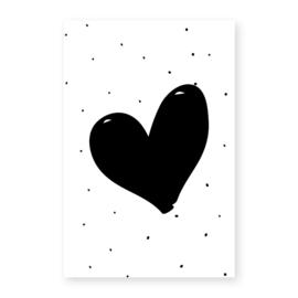 Naamslinger Symbool hartje (per 10)