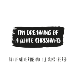 Schudbol I'm dreaming of a white christmas