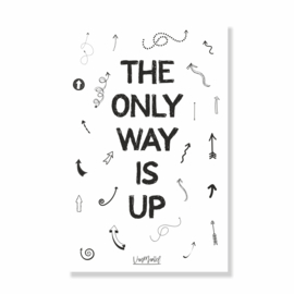 Kadokaart | The only way is up, per 10 stuks