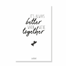 Kadokaart | Always better together, per 10 stuks