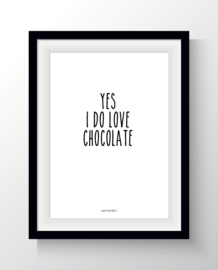 Yes i do love chocolate