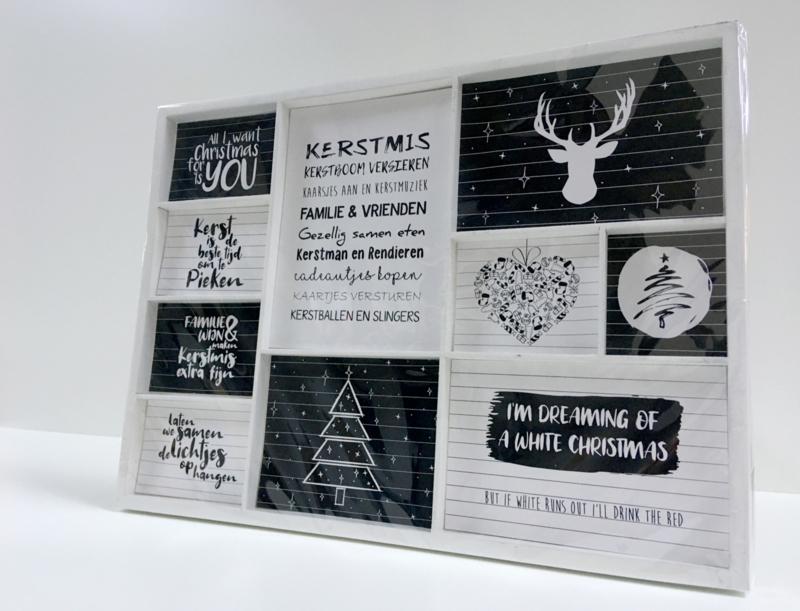 Collagebord Kerst