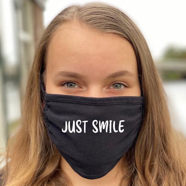 Mondmasker - Just smile