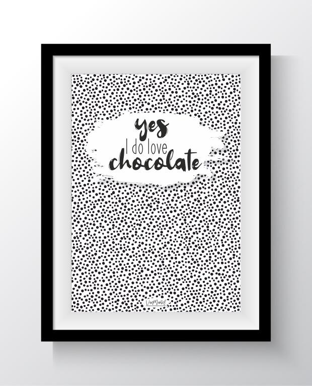Yes I do love chocolate