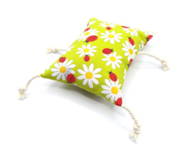 catnip cat pillow Lovely Ladybugs