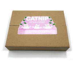 luxe speelpakket met speelkussen en 5 soorten catnip