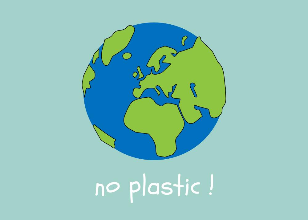 natuurlijk materiaal, geen plastiek