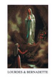 noveenkaarsen Lourdes&Bernadette grot  per 6 stuks