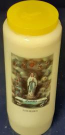 noveenkaarsen Lourdes per 6 stuks