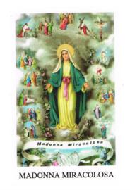 noveenkaars 9-dagenbrander-Madonna Miracolosa-9 stuks