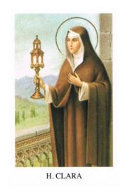 noveenkaars 9-dagenbrander-Heilige Clara-9 stuks