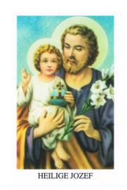 noveenkaarsen Heilige Jozef per 6 stuks