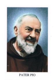 noveenkaarsen Pater Pio per 6 stuks