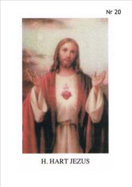 NR 20 (h. hart jezus)  per 10 stuks
