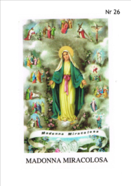 NR 26 (madonna miracolosa)  per 10 stuks