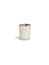 YC snowflake frost small votive holder