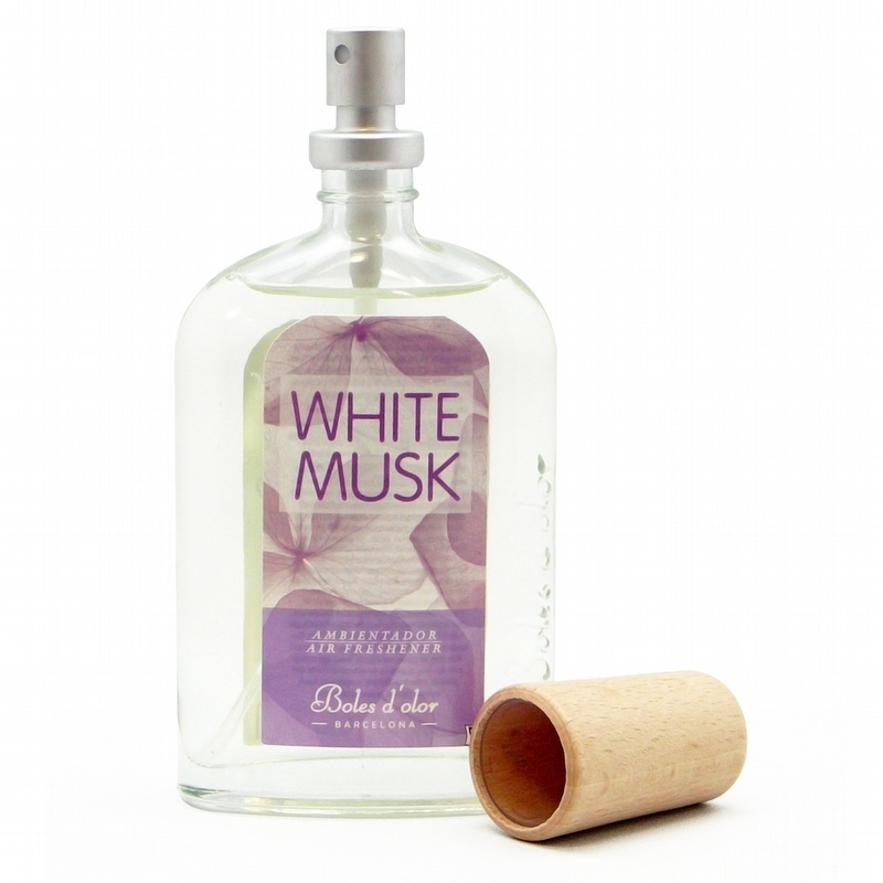 Boles d'olor Roomspray Witte Musk