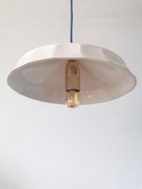 Hanglamp Keramiek Wide - Blue Cord