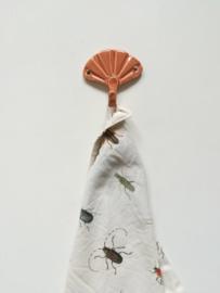 Haakje terracotta Ginkgo