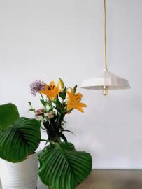 Hanglamp Keramiek Wide - Yellow Cord