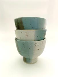 Japanse koffie/cappuccino Kop Tricolore (2x)