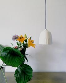 Hanglamp Keramiek High - Blue Cord