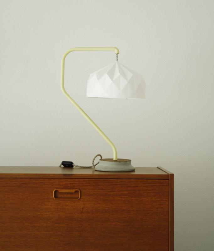Origami Light Yellow Seven