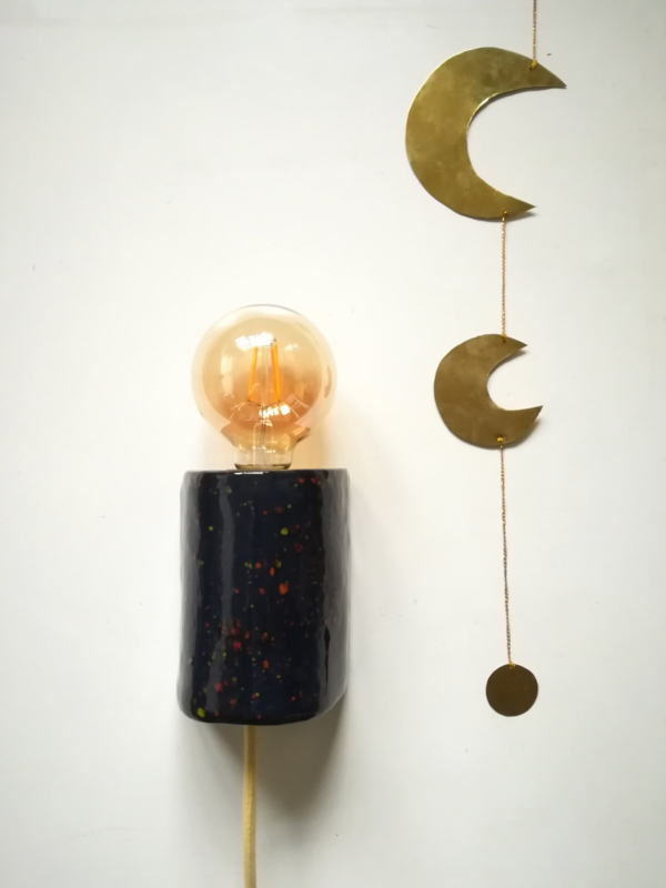 Nightblue mini dots muurlamp