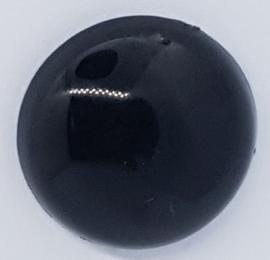 Kwaliteits Veiligheidsogen Zwart 5mm (2 stuks)