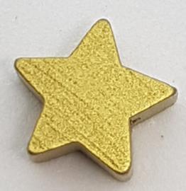 Ster Kraal Goudkleurig 15mm