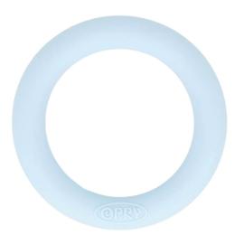 Siliconen Bijtring Rond 55mm - Licht Blauw