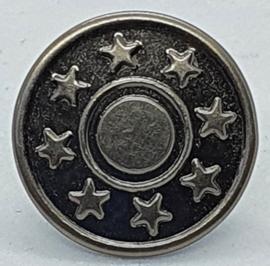Jeans Knoop Zilverkleurig met sterren