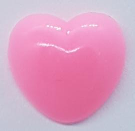 Veiligheidsneus Roze Hartje 12 mm
