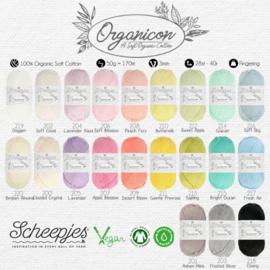 Scheepjes Organicon Katoen Alle 21 kleuren in 1 pakket