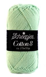 Scheepjes Cotton 8 nr 664 Zacht Groen