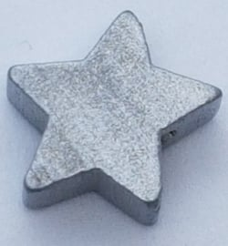 Ster Kraal Zilverkleurig 15mm