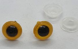 Veiligheidsogen Geel 10mm (2 stuks)
