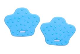 Dierenpoot bijtringen - Lichtblauw