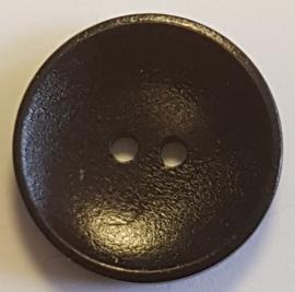 Donker Bruine Knopen 25mm